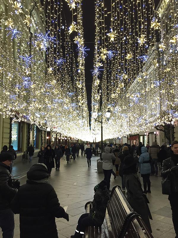 Weihnachten Moskau 2017